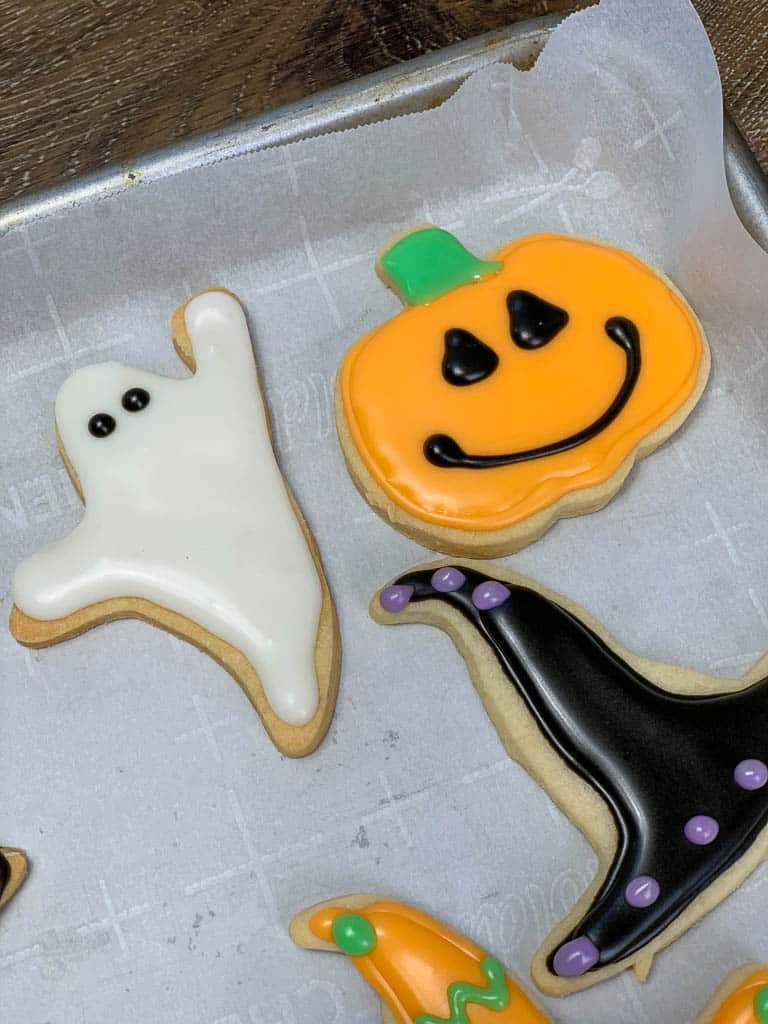 Easy Sugar Cookies with Royal Icing