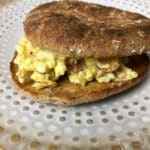 Egg Salad Bacon Sandwich