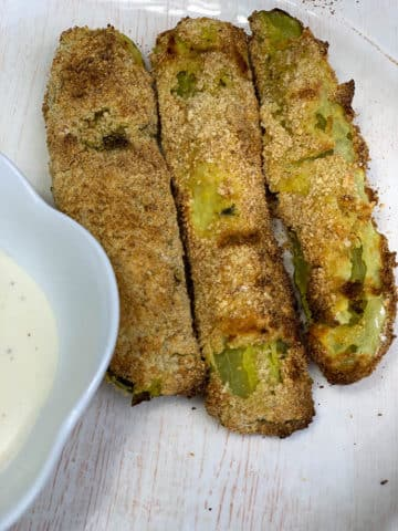 Easy Oven Fried Pickles