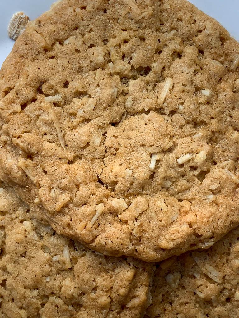 Coconut Crisp Cookies
