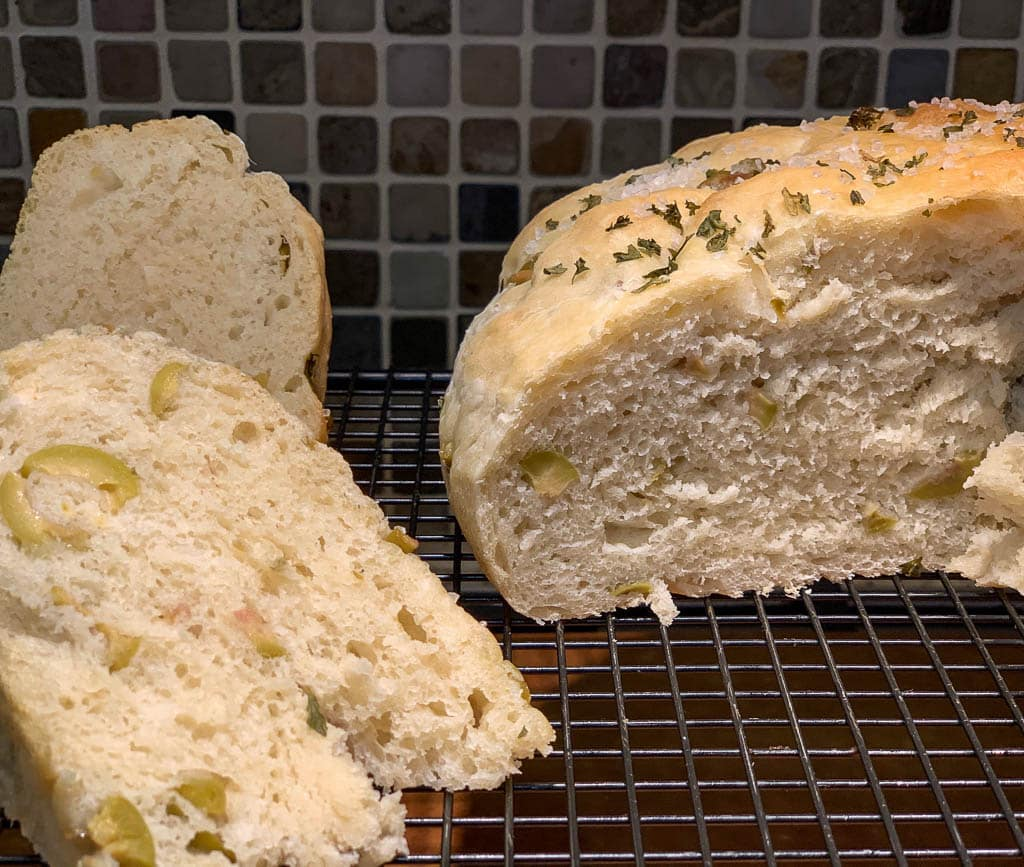 Garlic Olive Bread
