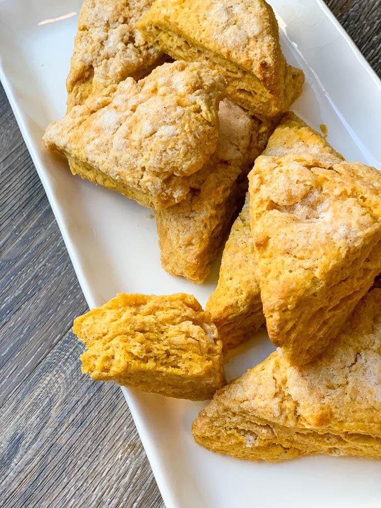 Pumpkin Ginger Scones