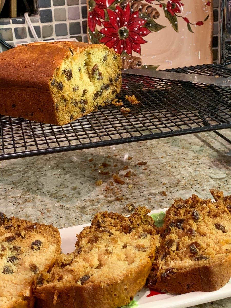 Honey Raisin Loaf with Walnuts