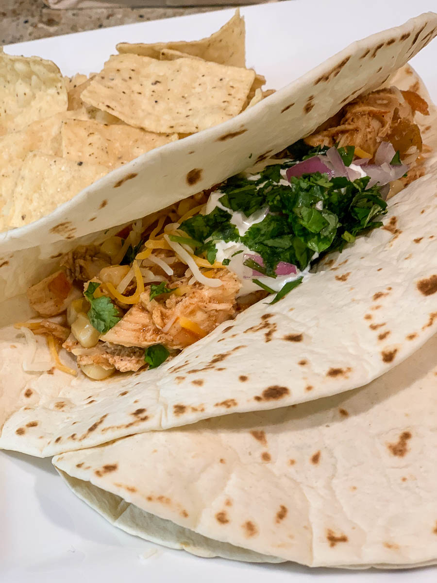 Slow Cooker Chicken Lime Tacos