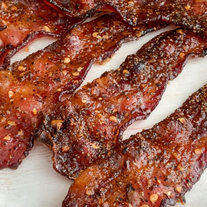 sweet spicy bacon