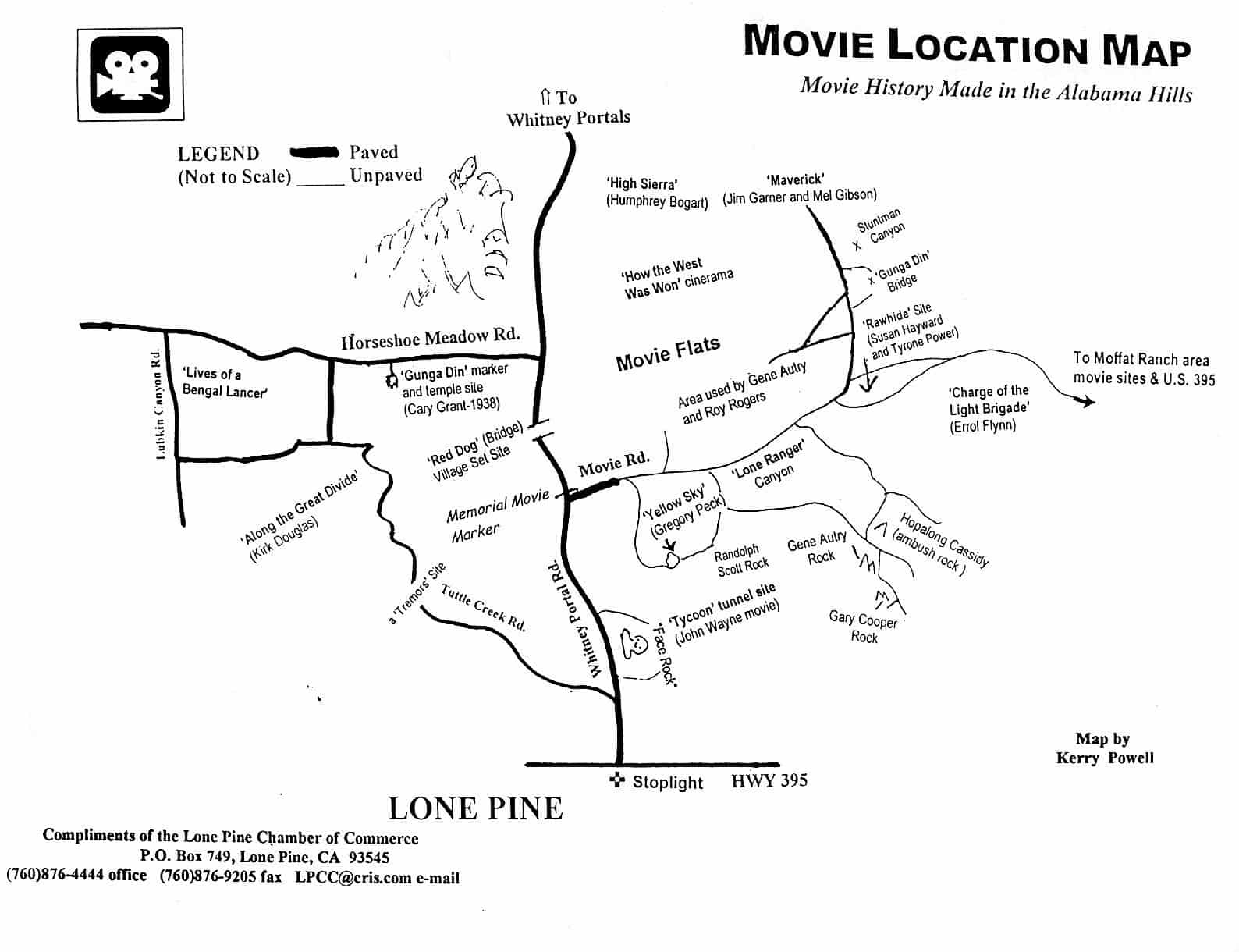 alabama hills movie location map