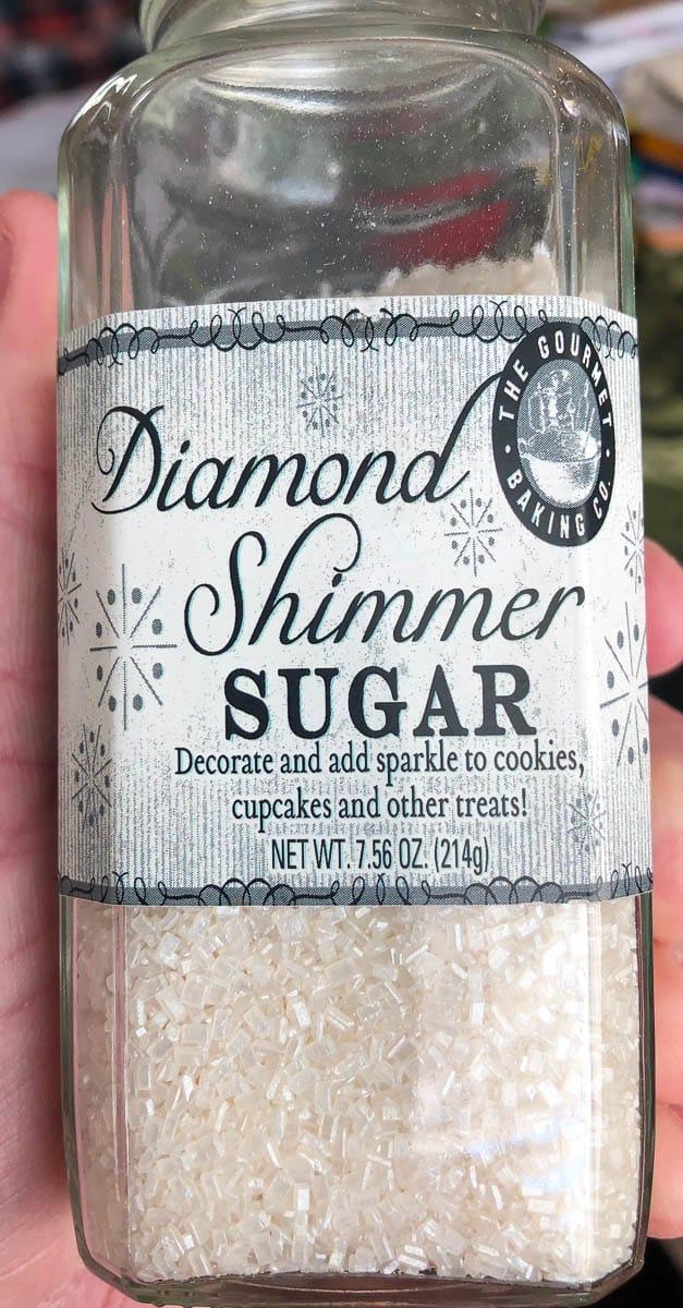 coarse shimmer sugar