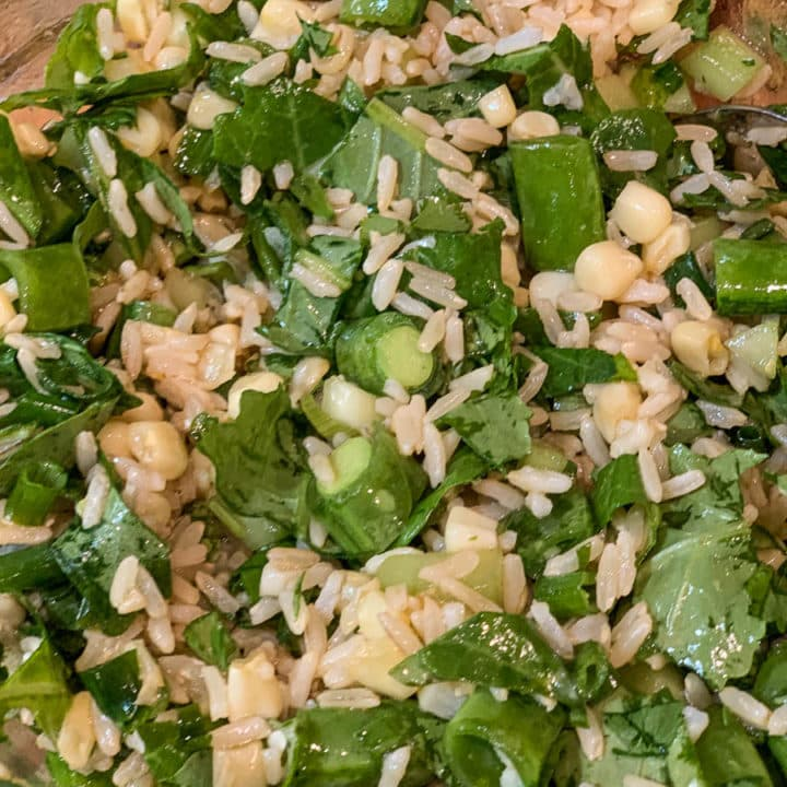 fried rice salad