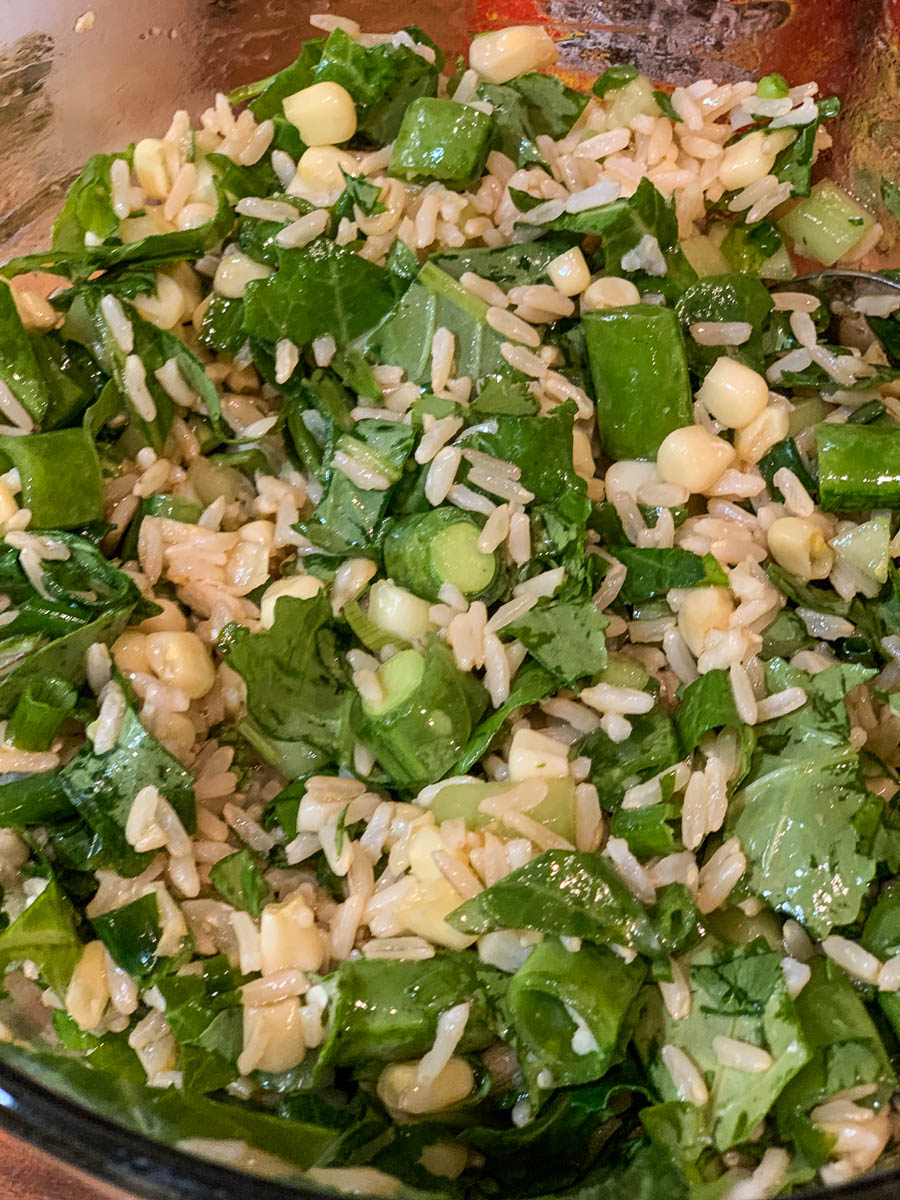 fried rice salad