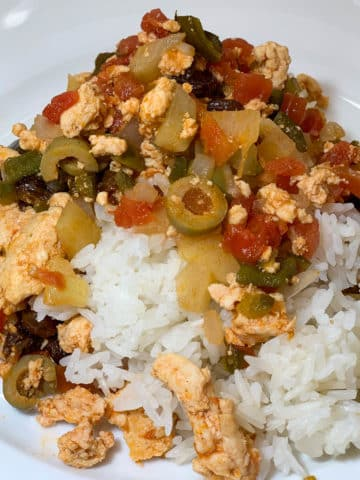 mexican chicken picadillo