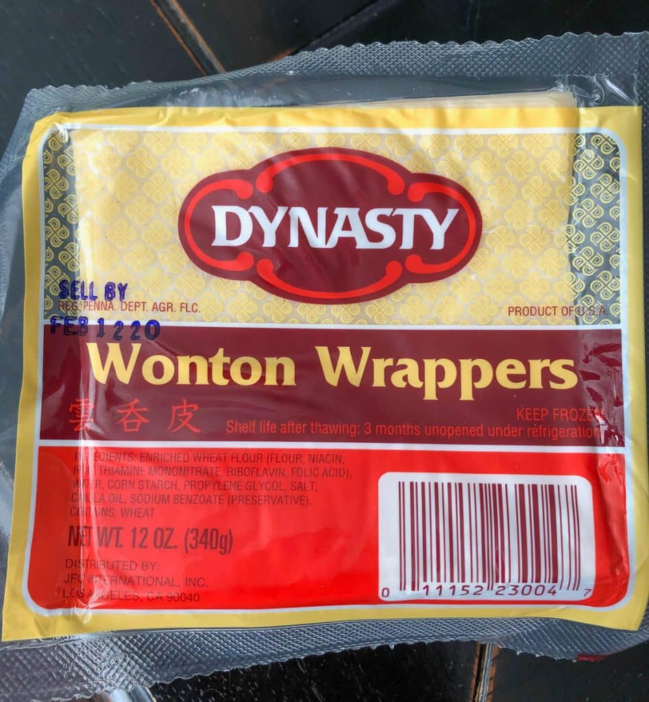 wonton wrappers