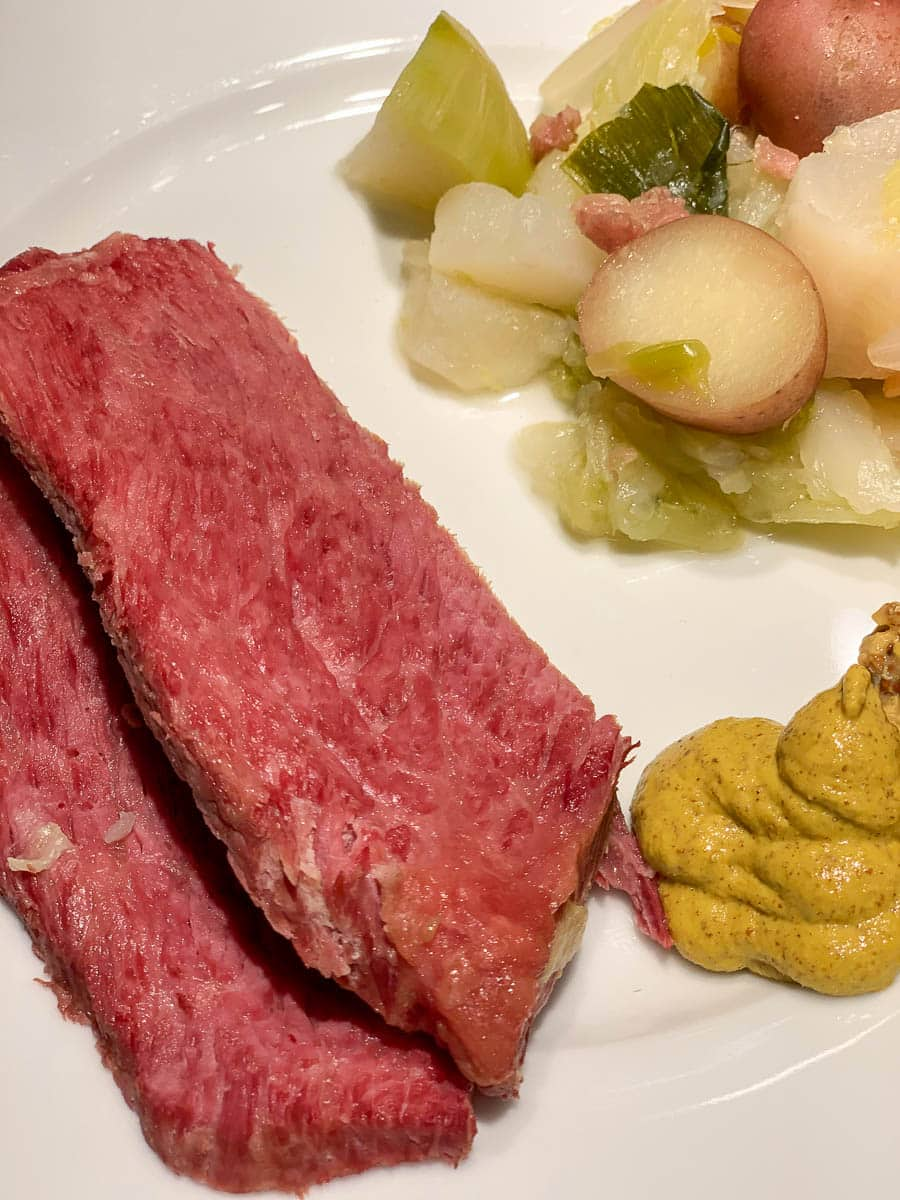 corned beef pot au feu
