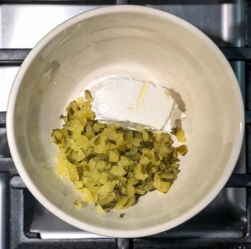 Mini Dill Pickle Egg Rolls