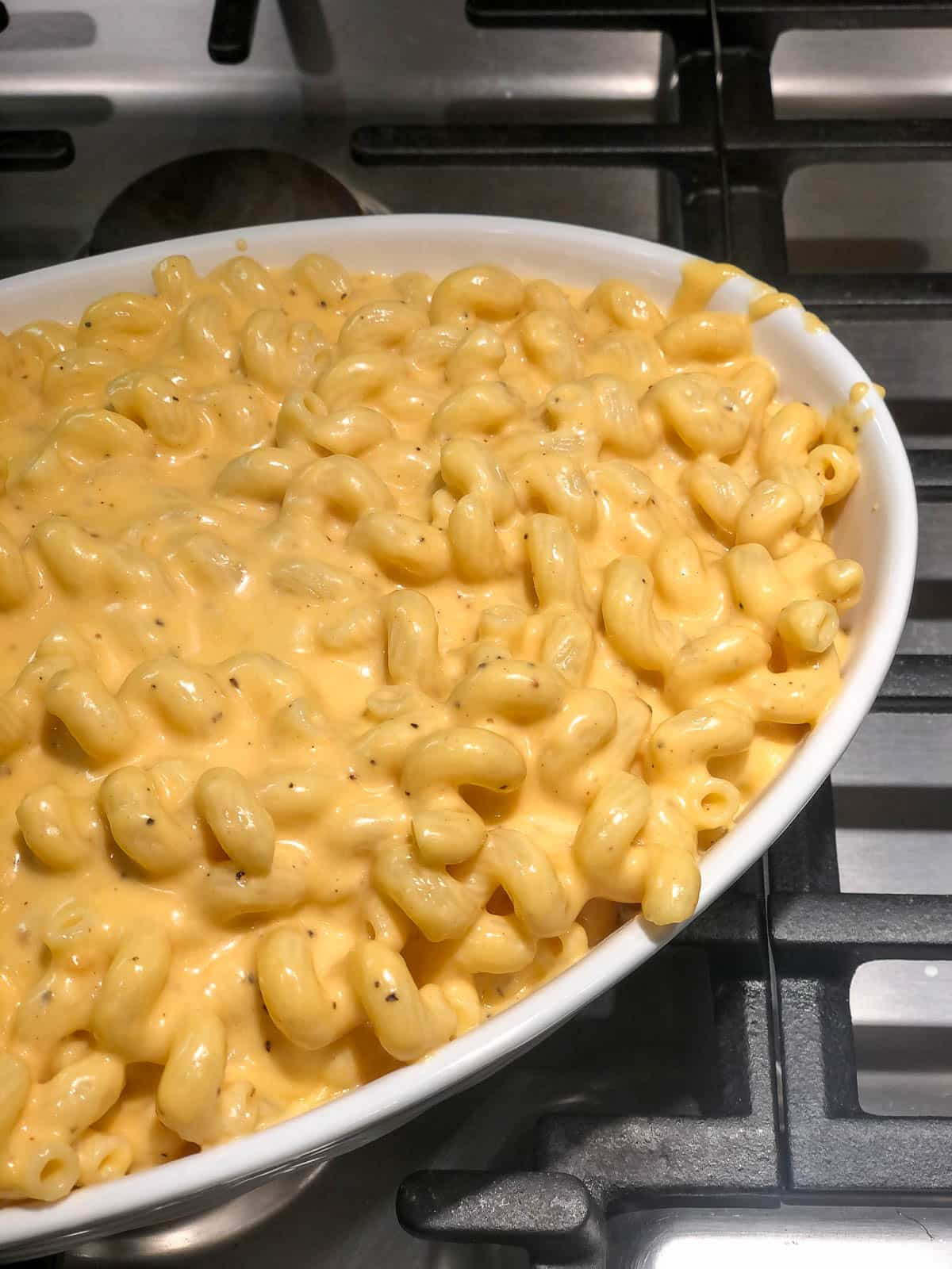 easy baked mac and cheese