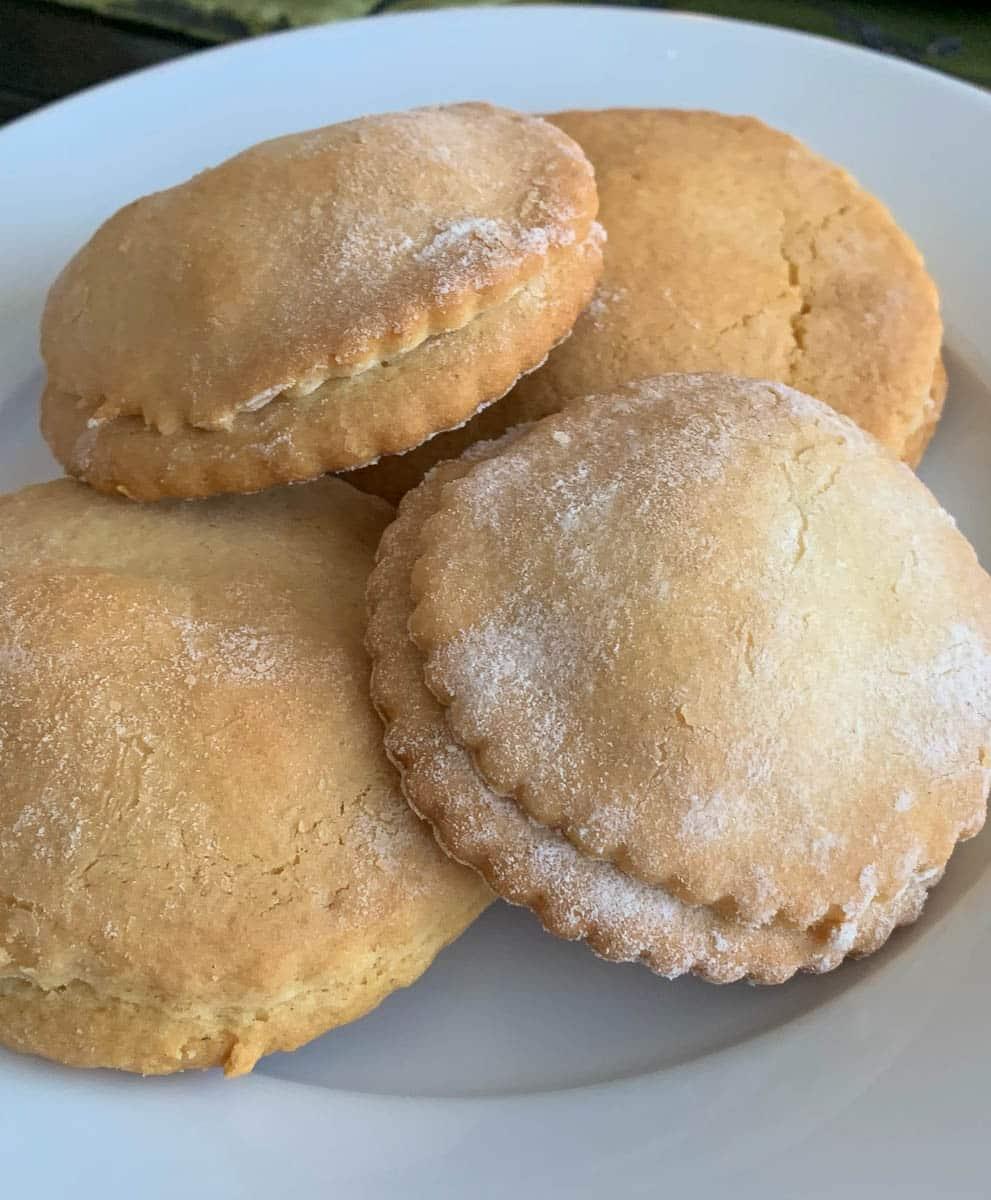 raisin pie cookies