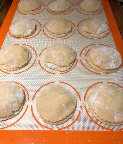 raisin pie shortbread cookies
