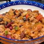delicious turkey chili