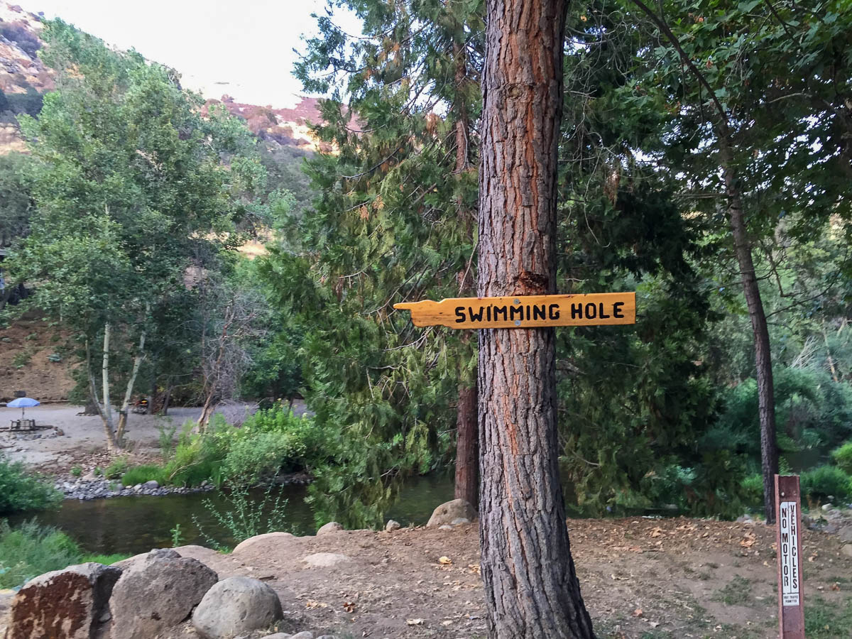 sequoia rv ranch swimming hole