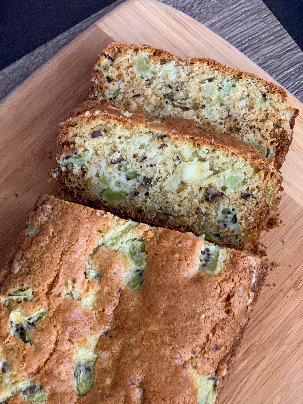 kiwi walnut bread