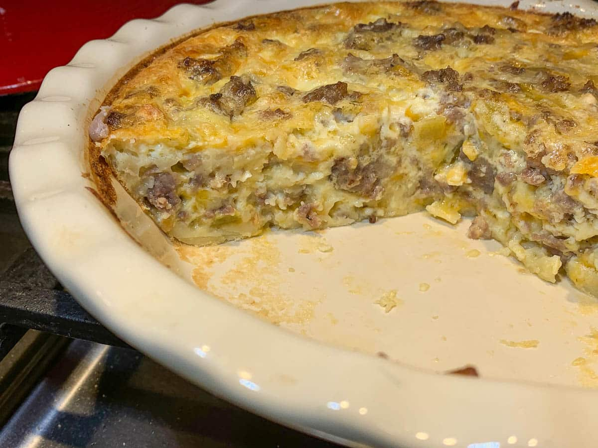 quesadilla pie looks delicious