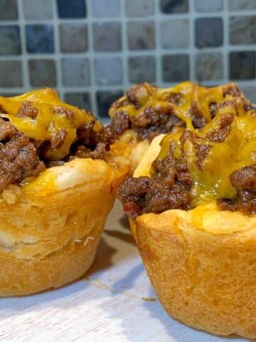 bbq beef muffins
