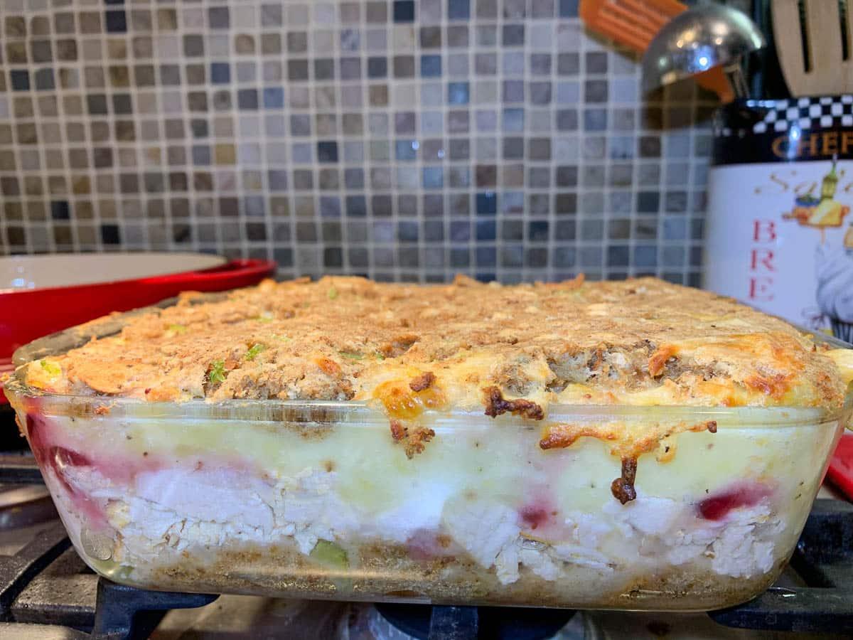 thanksgiving turkey casserole