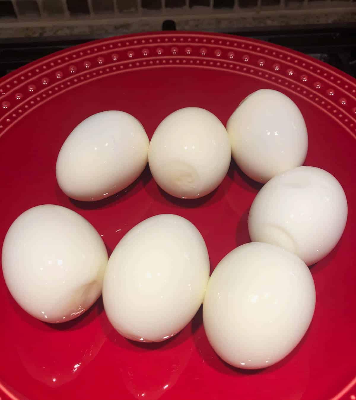 instant pot hard boiled eggs