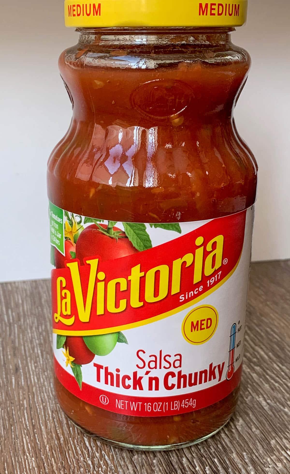 La Victoria Salsa Jar