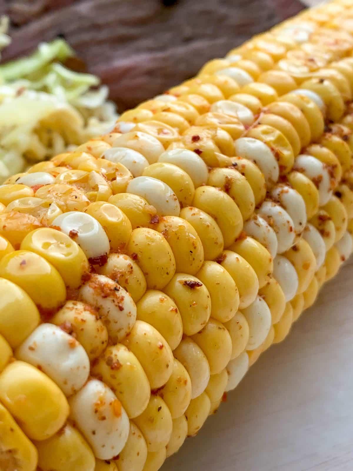 grilled corn on the cob with tajin