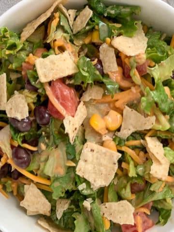 ranch bbq chopped salad