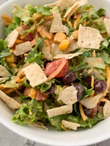 ranch bbq chopped salad