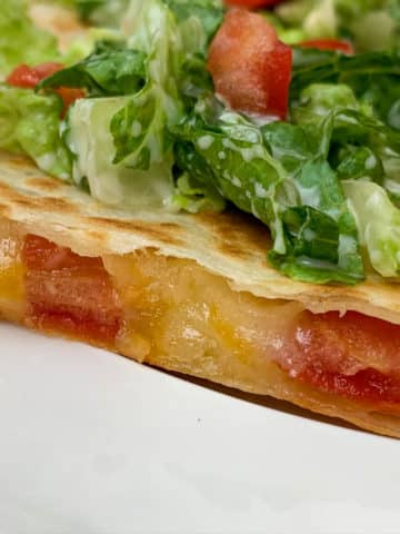 awesome blt quesadillas