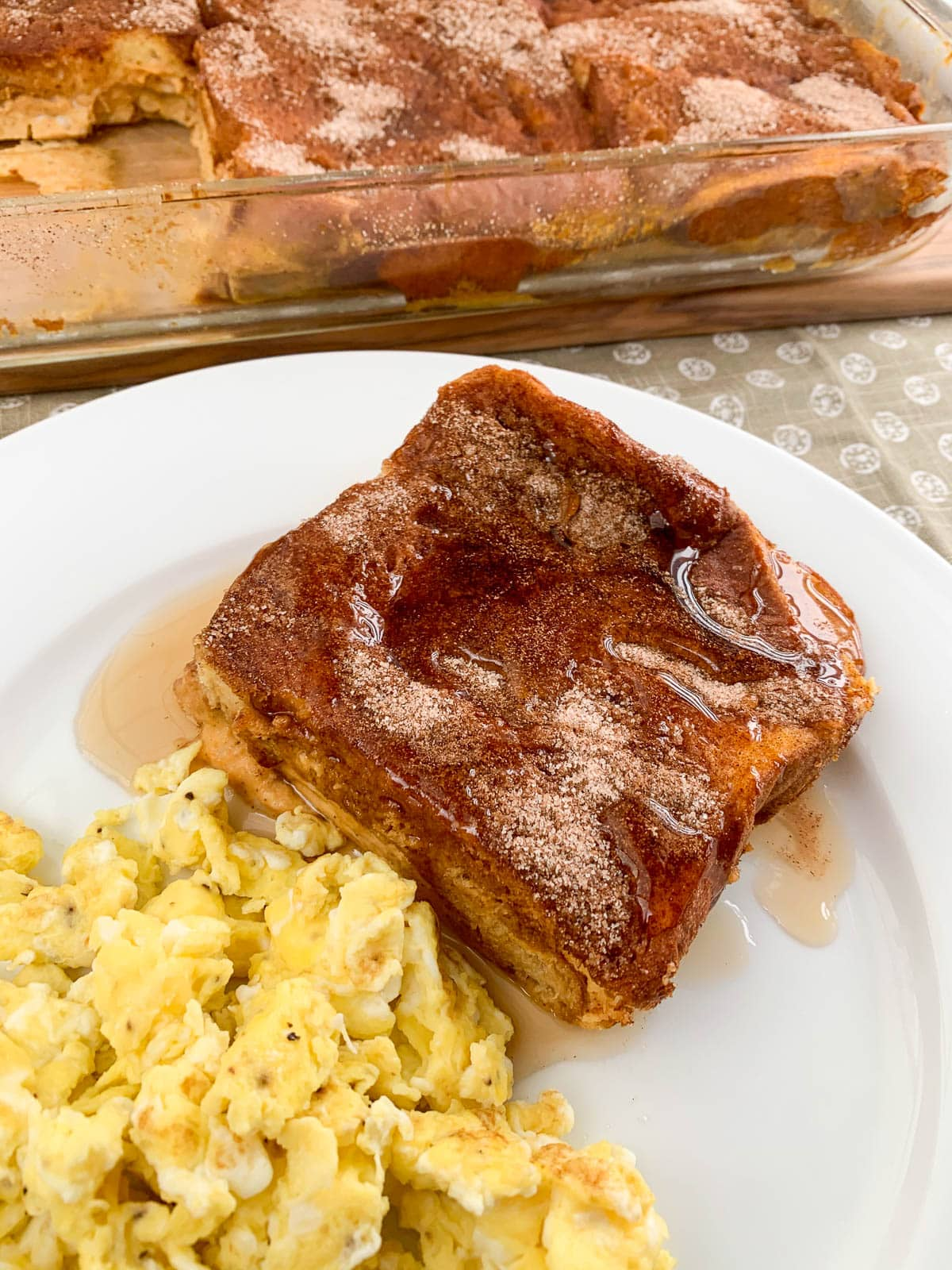 french toast with eggs