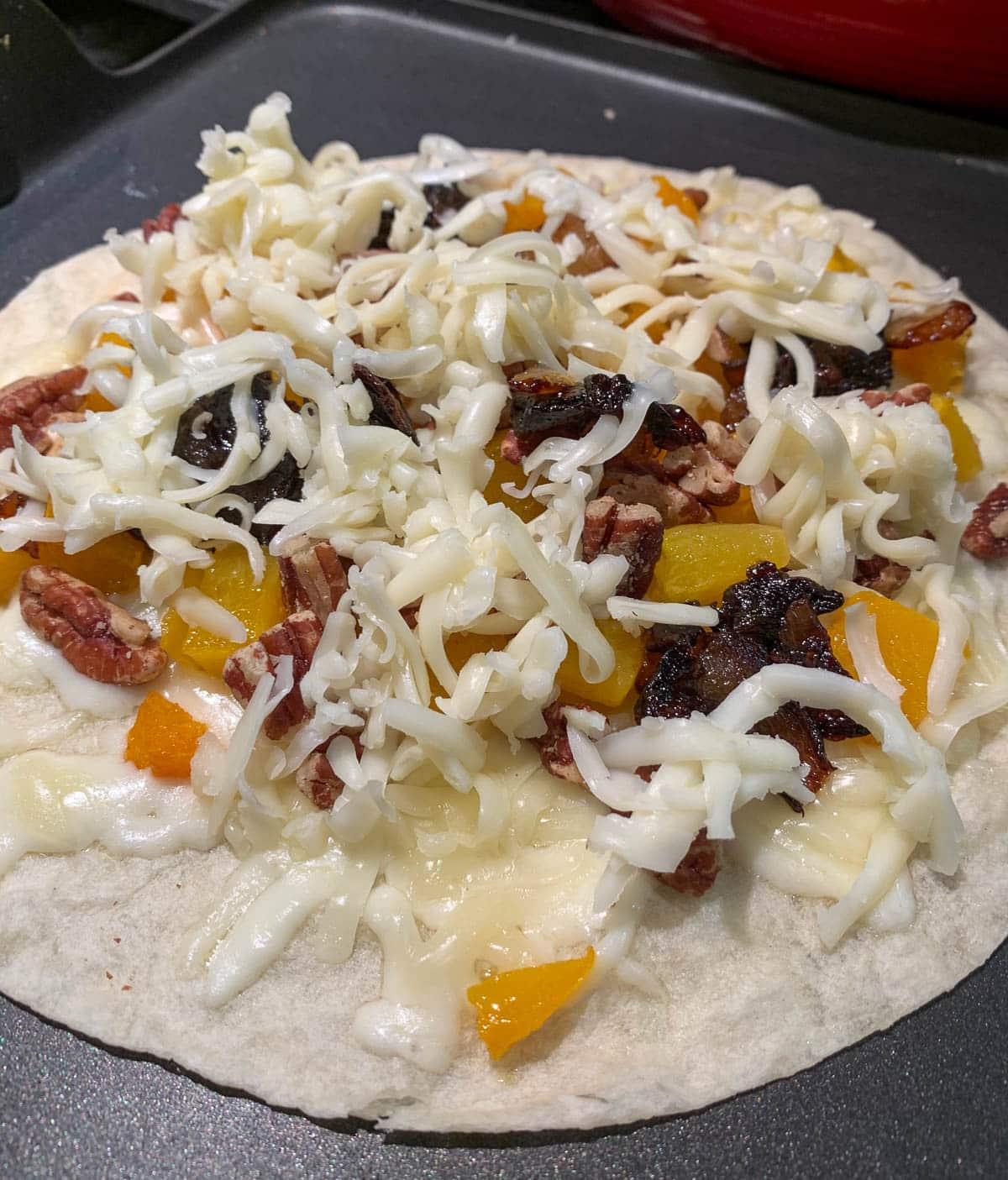 butternut squash quesadillas