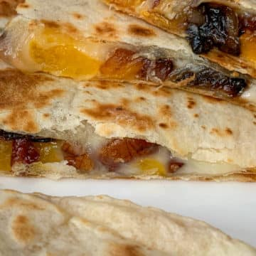 butternut squash quesadillas