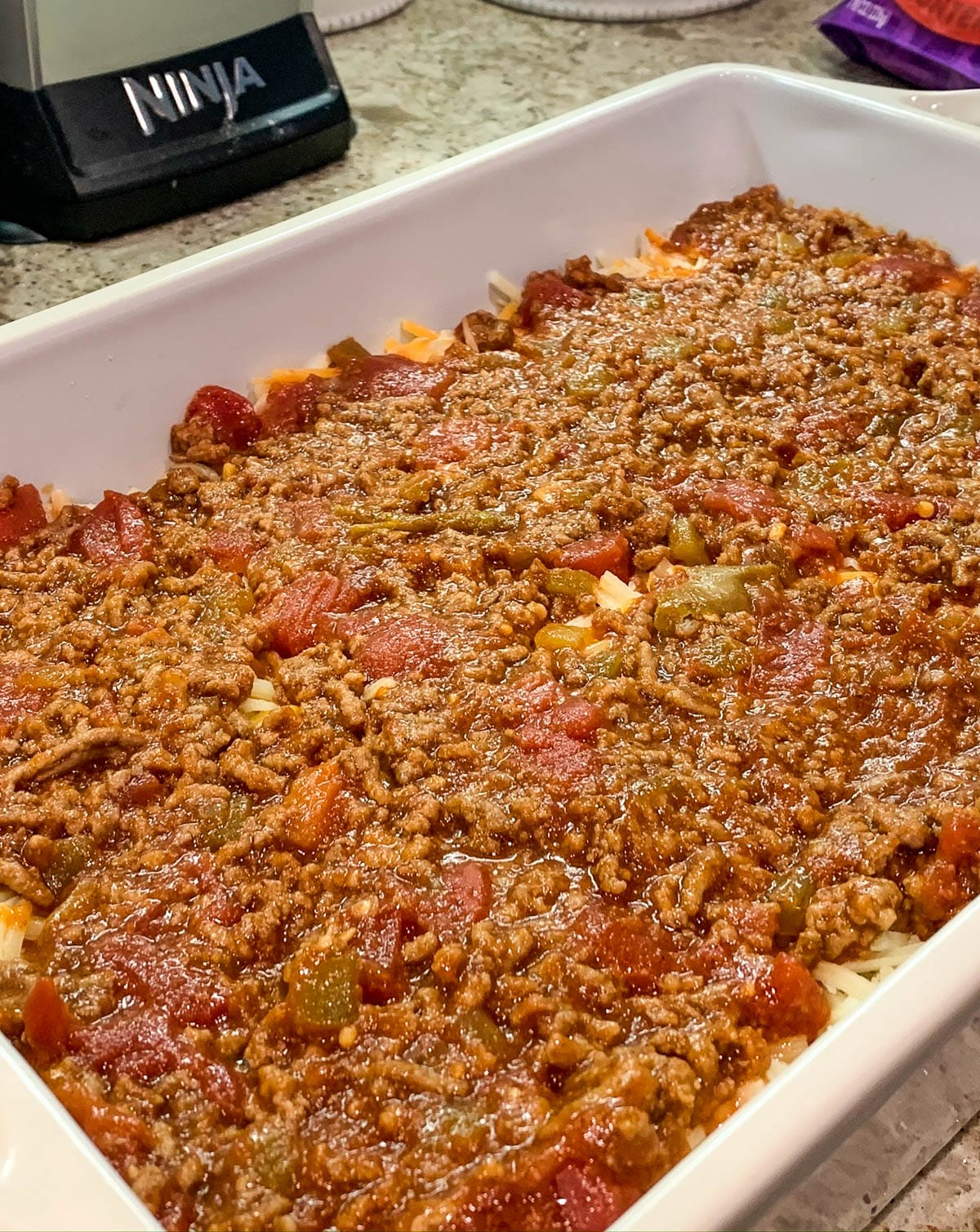 meat mixture for mexican lasagna