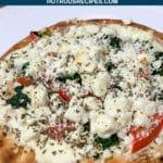 mini greek pizzas
