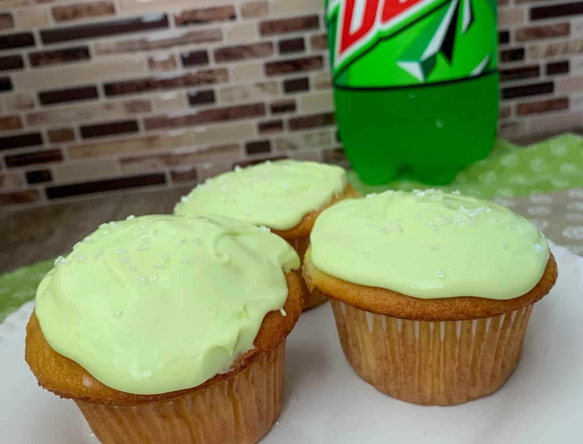 mountain dew cupcakes