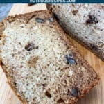 spiced applesauce bread with pecans