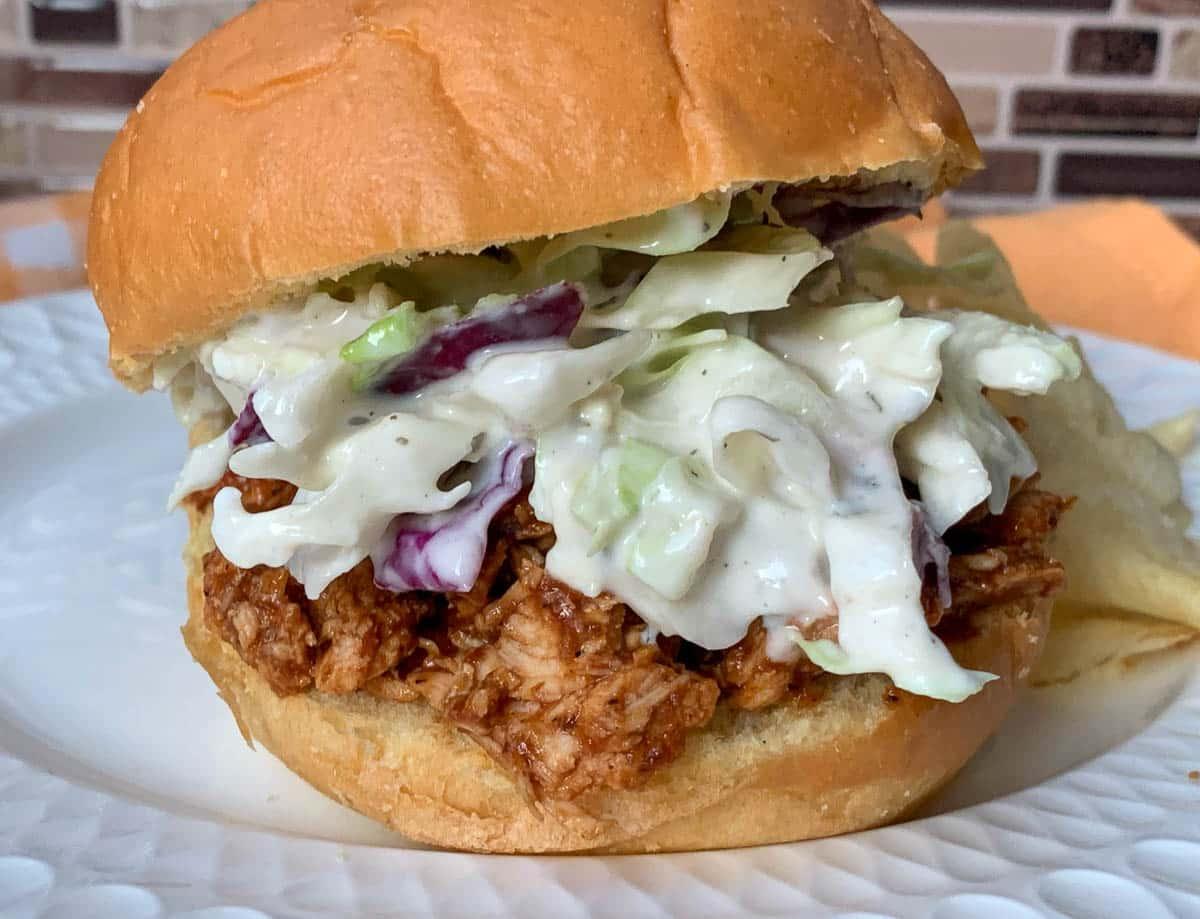 BBQ Pulled Chicken Sandwiches