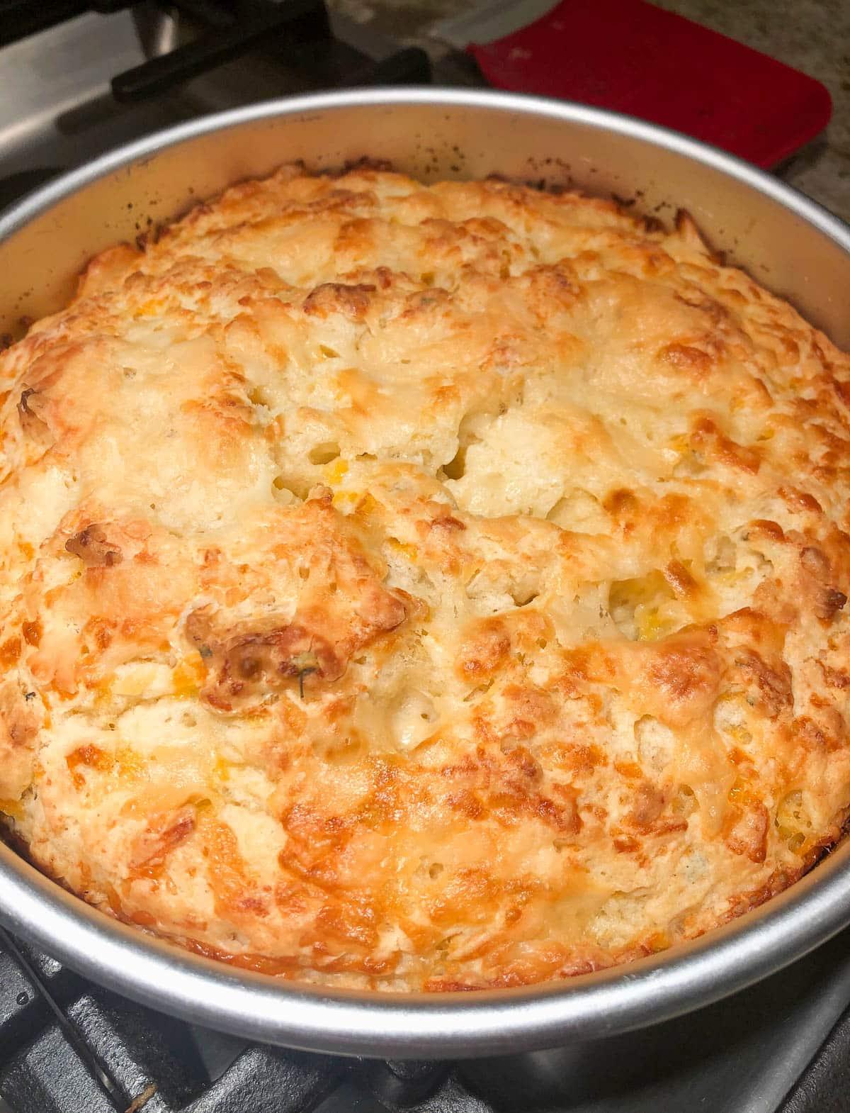 cheddar parmesan bread