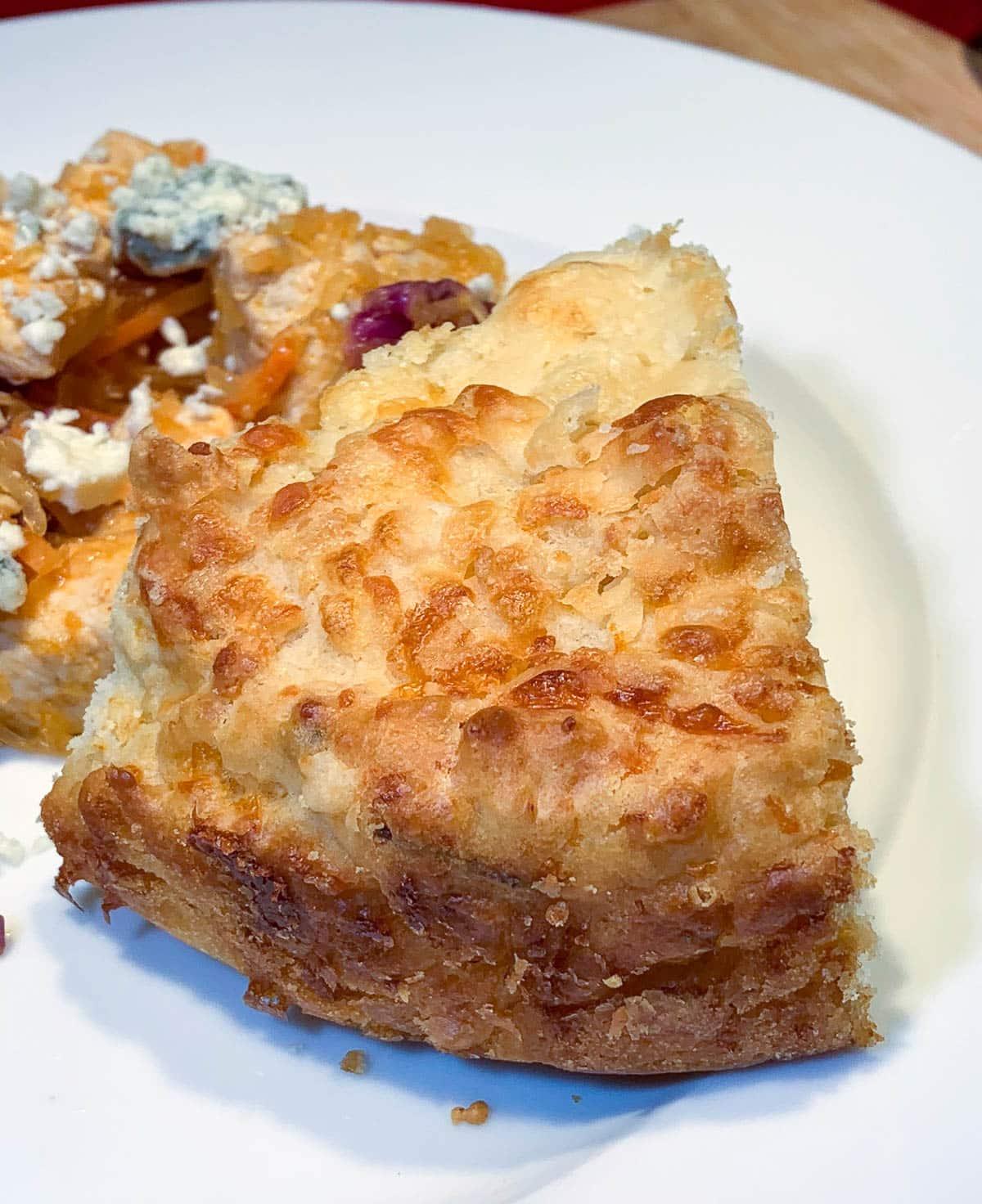 cheese bread wedge