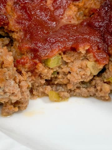 delicious applesauce meatloaf