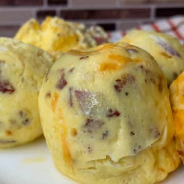 instant pot bacon and cheese egg bites