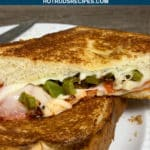 pizza style grilled cheese