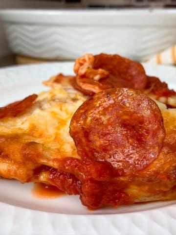 ravioli pizza bake