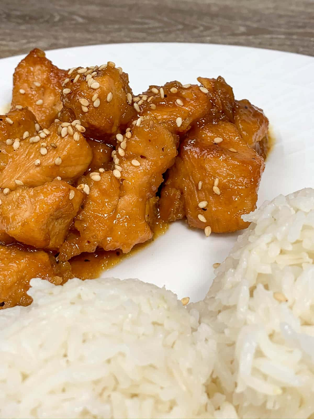 chicken with white rice