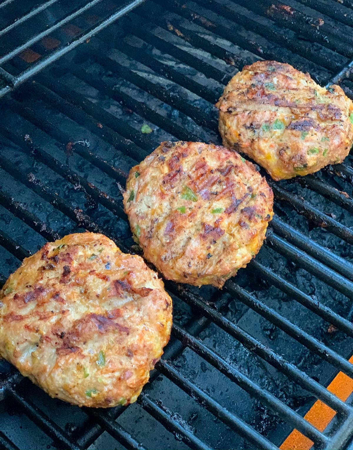 patties on the grill