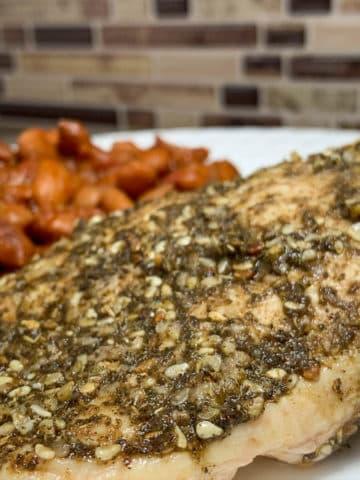 za'atar chicken breasts