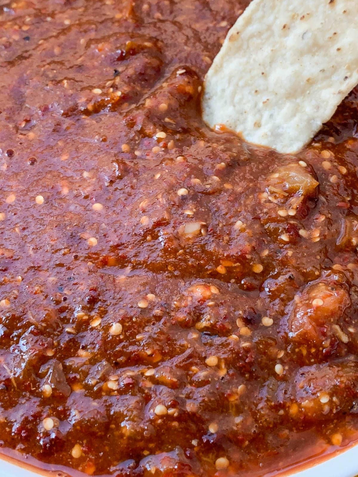 Copycat Chipotle Spicy Salsa